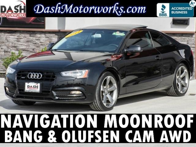 2014 Audi A5 Quattro 2.0T Premium Plus Navigation Camera Sun
