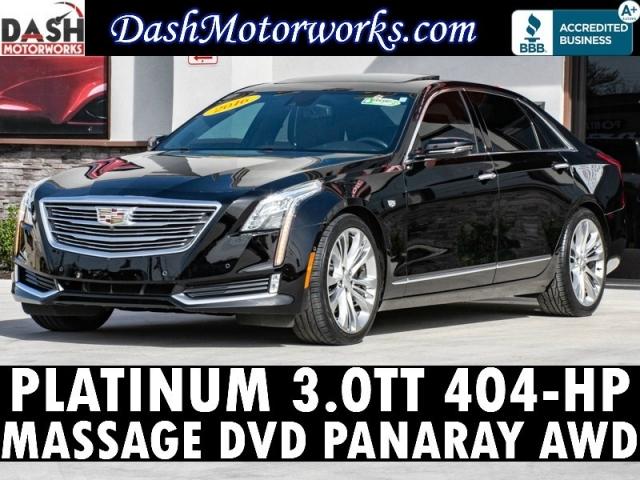 2016 Cadillac CT6 Platinum Twin-Turbo Navigation Panaray Massage