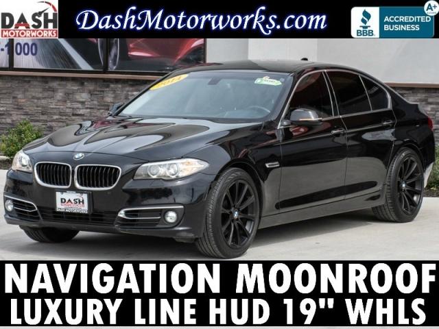 2014 BMW 5-series 535i Navigation Camera Sunroof Leather HU