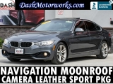BMW 4-Series 428i Gran Coupe Navigation Camera Sunroof 2016
