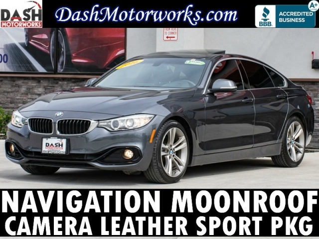 2016 BMW 4-Series 428i Gran Coupe Navigation Camera Sunroof