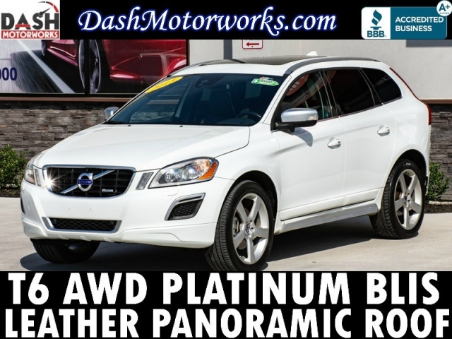 2013 Volvo XC60 T6 R-Design Platinum Navigation Panoramic Cam