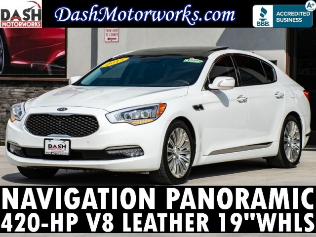 2015 Kia K900 Luxury V8 Navigation Panoramic Lexicon Leathe