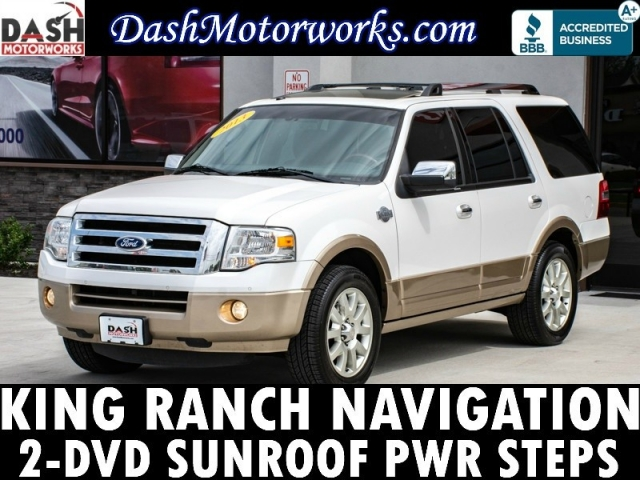2013 Ford Expedition King Ranch Navigation Sunroof Power Ste