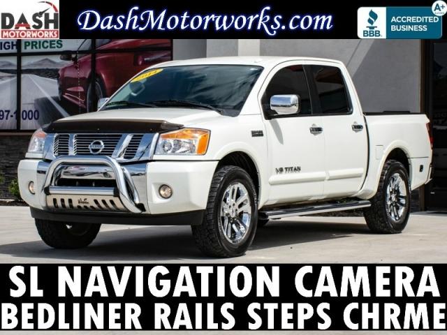 2014 Nissan Titan SL Crew Cab Navigation Camera Heavy Metal Ch
