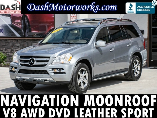 2011 Mercedes-Benz GL450 AWD Navigation Sunroof Camera DVD Leather Sp
