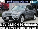 BMW X3 xDrive28d Navigation Panoramic Camera Leather L 2015