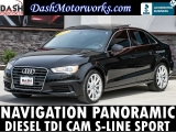 Audi A3 TDI Sport Premium Plus Navigation Panoramic Cam 2015