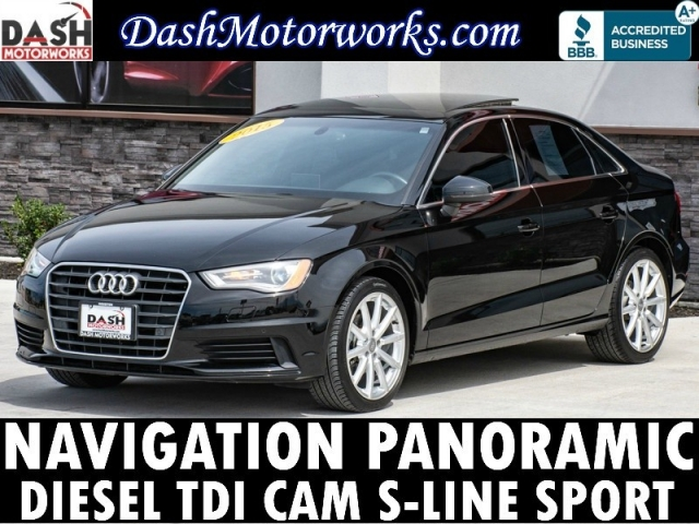 2015 Audi A3 TDI Sport Premium Plus Navigation Panoramic Cam