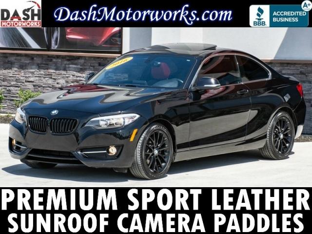 2016 BMW 228i Premium Sport Leather Sunroof Camera Auto