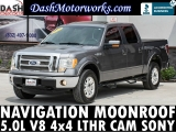 Ford F-150 Lariat 4x4 SuperCrew V8 Navigation Sunroof 2012