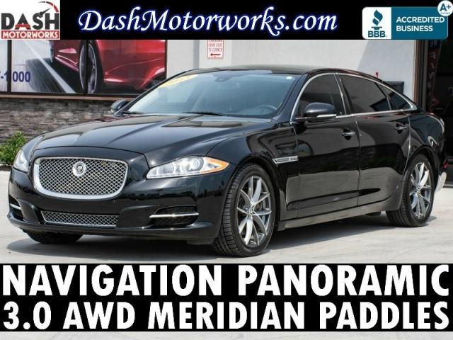 2013 Jaguar XJL Portfolio AWD Navigation Panoramic Meridian