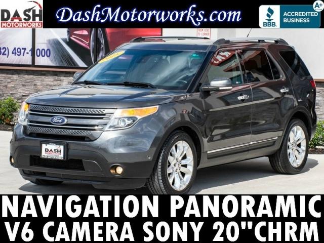 2015 Ford Explorer Limited V6 Navigation Panoramic Camera So