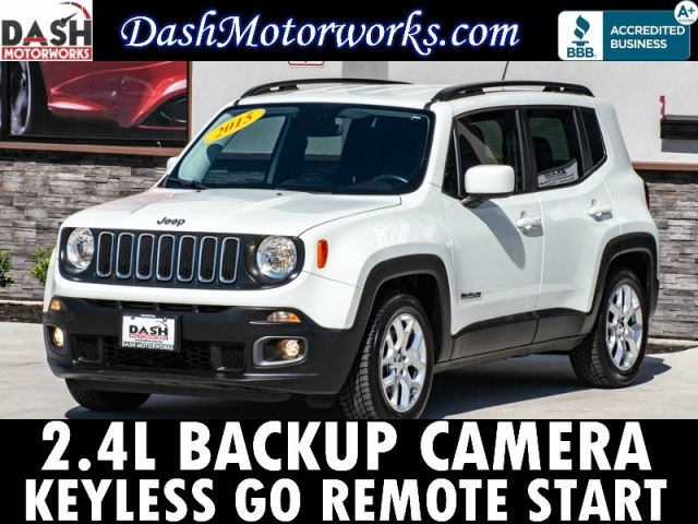 2015 Jeep Renegade Latitude Camera Keyless Go Remote Start