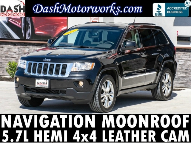 2012 Jeep Grand Cherokee Laredo 4x4 Navigation Leather Camer