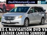 Honda Odyssey EXL Navigation Sunroof Leather Camera 2012