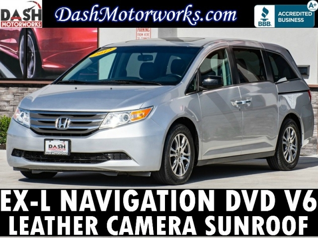 2012 Honda Odyssey EXL Navigation Sunroof Leather Camera