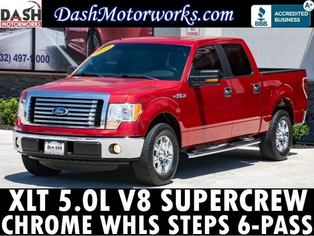 2011 Ford F-150 XLT SuperCrew Chrome Wheels Steps V8 Auto