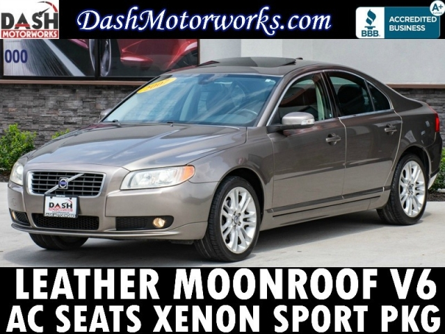 2007 Volvo S80 3.2 Leather Sunroof Xenons Cooled Seats Auto