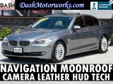 BMW 535i Navigation Camera Sunroof Leather HUD 2013