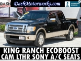 Ford F-150 King Ranch SuperCrew EcoBoost Camera Leather 2011