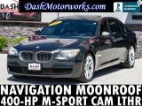 BMW 7-Series 750Li M-Sport Navigation Camera Sunroof L 2011
