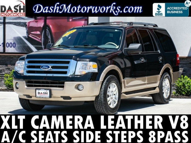 2011 Ford Expedition XLT PREMIUM Camera Leather Cooled Seats