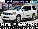 Nissan Armada Platinum Navigation Sunroof Bose 2-DVD Leat 2013