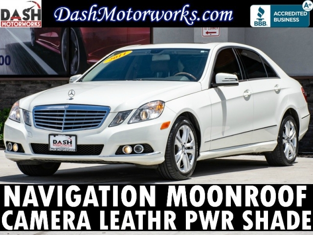 2011 Mercedes-Benz E350 Sport Sedan Navigation Camera Sunroof Leather