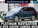 Nissan Pathfinder Platinum Navigation DVD Camera Bose Lea 2013
