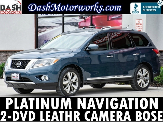 2013 Nissan Pathfinder Platinum Navigation DVD Camera Bose Lea