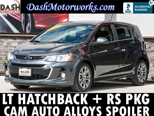 2018 Chevrolet Sonic LT Hatchback RS Package Camera Auto