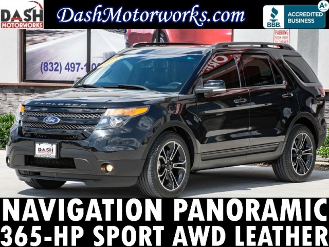 2015 Ford Explorer Sport AWD Navigation Panoramic Camera Son