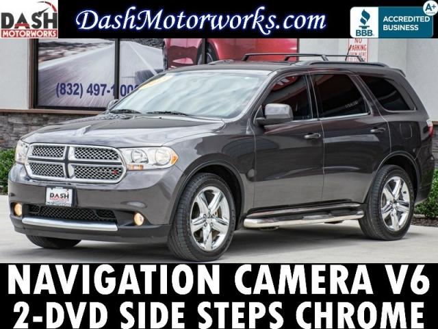 2013 Dodge Durango SXT Navigation Camera DVD Chrome 7-Pass