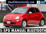 Fiat 500 Sport 5-Speed Manual Bluetooth 2013