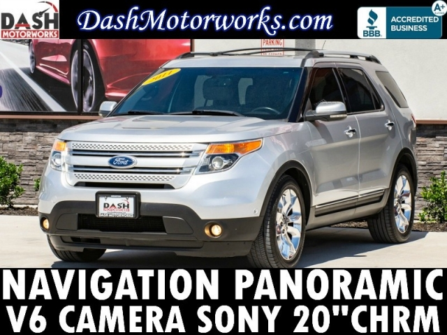 2011 Ford Explorer Limited V6 Navigation Panoramic Camera So