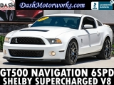 Ford Shelby GT500 Navigation SVT Performance Package 2012