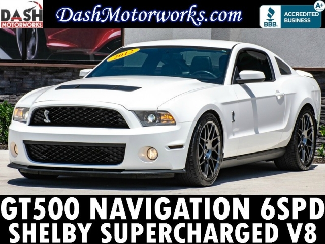2012 Ford Shelby GT500 Navigation SVT Performance Package