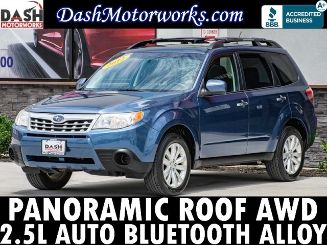 2012 Subaru Forester 2.5X Premium Panoramic Roof Automatic