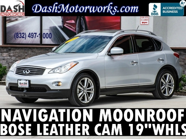 2012 Infiniti EX35 Journey Navigation Sunroof Bose Leather Camer