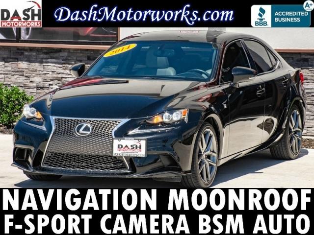 2014 Lexus IS 250 F-Sport Navigation Camera Leather Sunroof