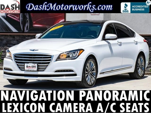 2015 Hyundai Genesis V6 Navigation Panoramic Lexicon Camera