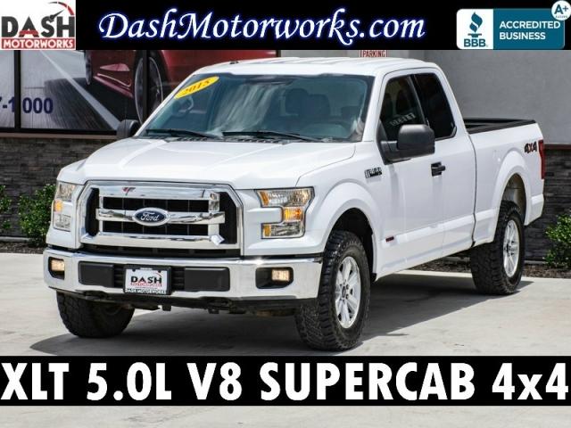 2015 Ford F-150 XLT V8 SuperCab 4x4 Bedliner Auto