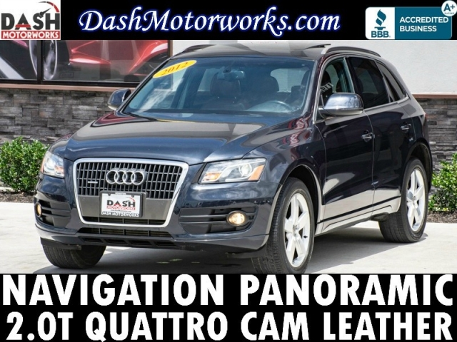 2012 Audi Q5 2.0T Quattro Premium Plus Navigation Panoramic