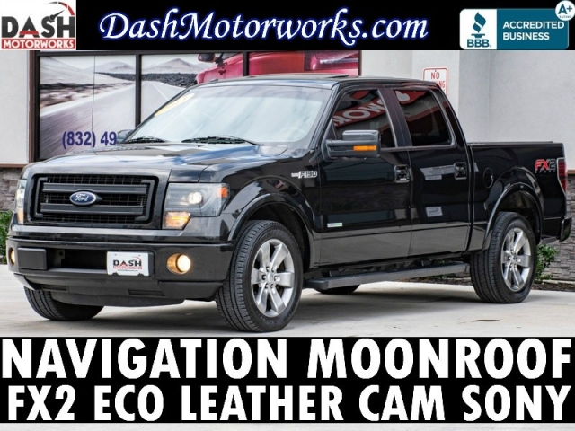2013 Ford F-150 FX2 SuperCrew Ecoboost Navigation Camera Sun