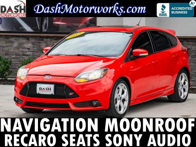 2013 Ford Focus ST Manual Navi Moonroof Recaro Sony