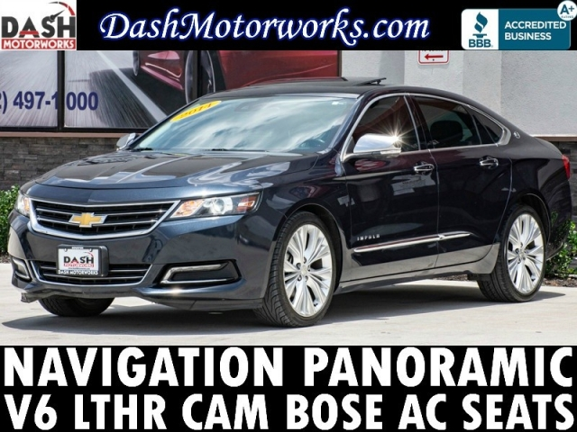 2014 Chevrolet Impala LTZ V6 Navigation Panoramic Camera Bose Lea