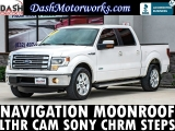 Ford F-150 Lariat EcoBoost SuperCrew Navigation Sunroof 2013
