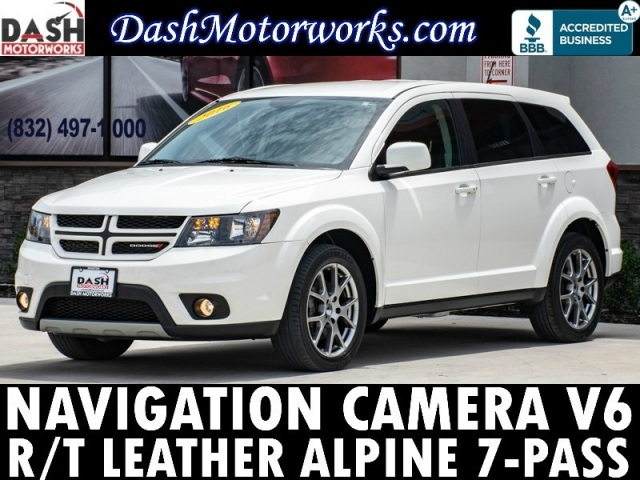 2016 Dodge Journey R/T V6 Navigation Camera Leather 7-Pass
