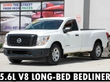 Nissan Titan Single Cab V8 Bluetooth Bedliner Automatic 2017